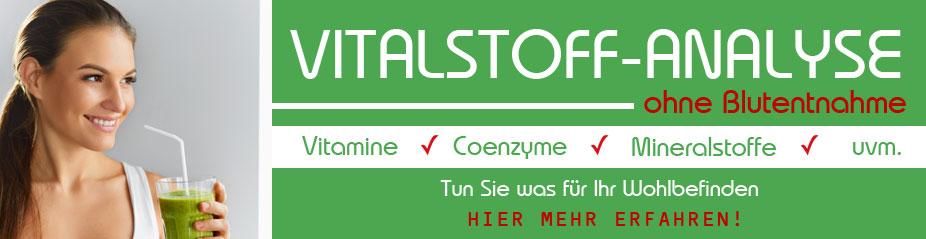 Gesundheitszentrum Schwerin - Vitalstoffmessung